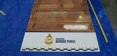 Two men charged after 63 kilograms of Meth was found hidden in shipping pallets