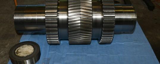 230kg of methamphetamine seized in helical gear drives!