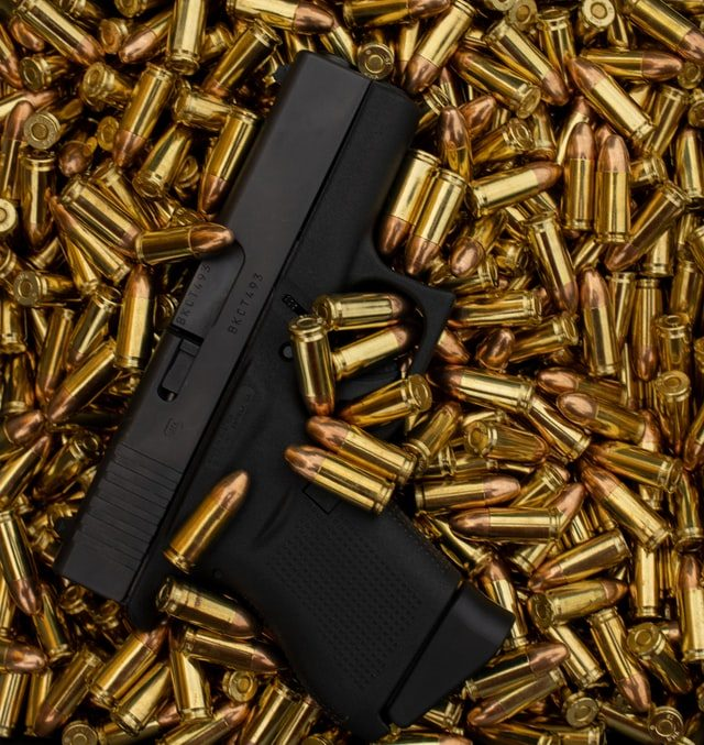 Firearms and Firearm Components Seized